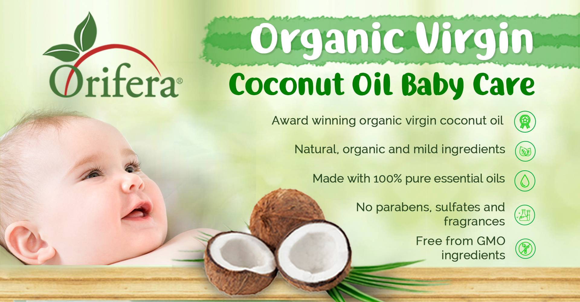 Organic VCO Baby Care