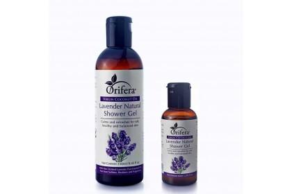 Virgin Coconut Oil Lavender Natural Shower Gel